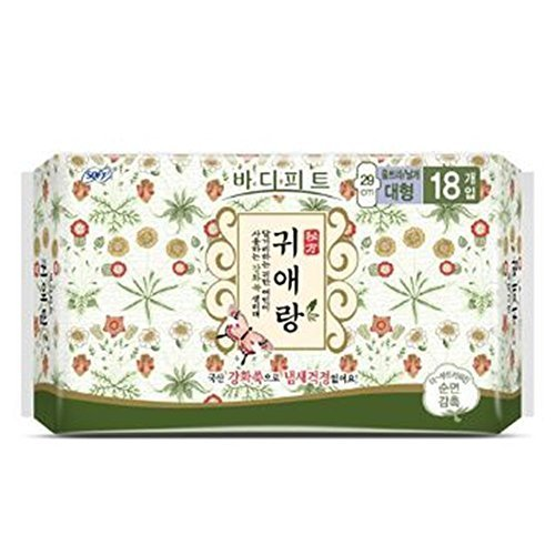 sofy-body-fit-guierang-korea-herbal-sanitary-pads-18ea-large-29cm-by-sofy