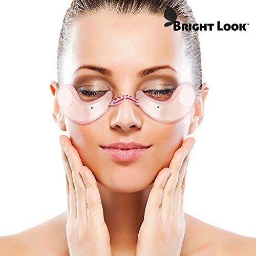 Welzenter Bright Look - Masajeador de ojos con parches reafirmantes, rejuvenecimiento de la mirada