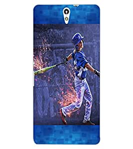 ColourCraft The Player Design Back Case Cover for SONY XPERIA C5 ULTRA DUAL