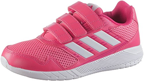 adidas Unisex-Kinder AltaRun Cloudfoam Laufschuhe, Pink (Reapnk/Ftwwht/Vivber), 34 EU
