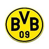 BVB 9404100 Mousepad rund schwarz/gelb