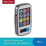 Fisher-Price Mon Téléphone Mobile Jouet Portable Bébé pour Apprendre les...