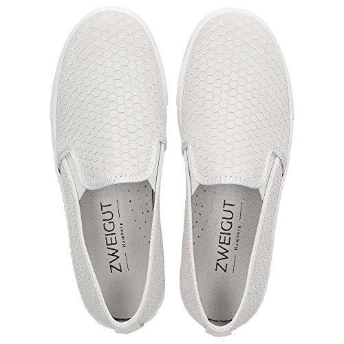 ZWEIGUT#Stella - Pantofole Donna Bianco antico