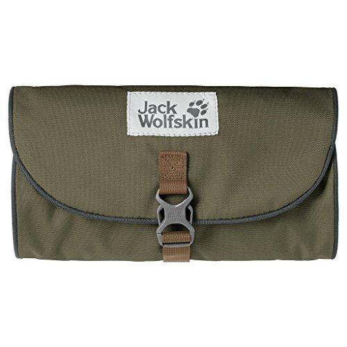 Jack Wolfskin Uni Mini Waschsalon Kulturbeutel, Burnt Olive, 26 x 15 x 1.5 cm, 0.7 Liter