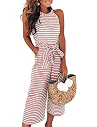 5f3f8d2487a Amazon.co.uk  Pink - Jumpsuits   Playsuits   Women  Clothing