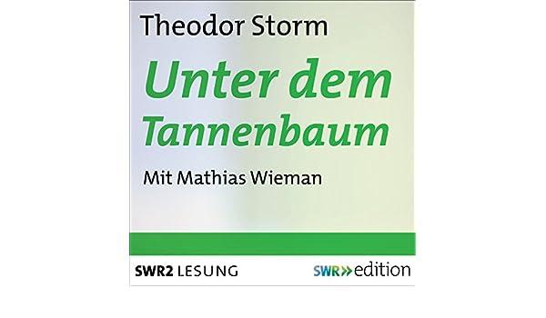 Weihnachtsgedicht Tannenbaum.Unter Dem Tannenbaum Audio Download Amazon In Theodor Storm