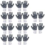 Spartan Premium Frontier Knife Cuts Resistant Hand Safety Glove With Grip Size Small, Grey and White, 10 Pair