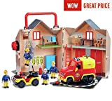 Picture Of New 2017 / 18 fireman sam fire station rescue set pontypandy rescue,create the world of fireman sam