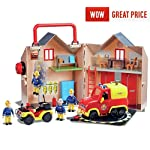 Caserne-de-pompiers-Fireman-Sam-Recrez-le-monde-de-Sam-le-pompier