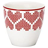 Greengate mini latte cup december h.6,5 cm