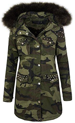 Damen jacke army-look D-231 [NK-2937 Khaki L]