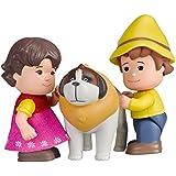 Heidi - Tubo con figuras (Famosa 700012779A) Heidi, Pedro y Niebla