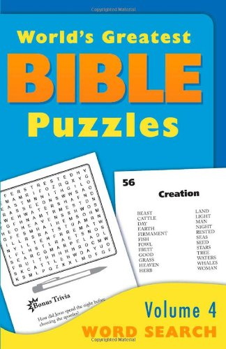 Word Search (World's Greatest Bible Puzzles)