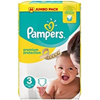 Couches Pampers Premium Protection 50 Couches Taille 3