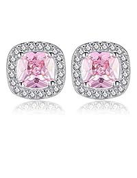 07b2bc5872ea ESCYQ Pendientes De Mujer Pendiente Clavos Pendientes Gota Línea De Oído  Moda Crystal Rhinestones 925 Silver