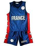 AEL Basketball Shorts été Garçons Nouveautés Filles Top Gilet Kit Set Taille âge...