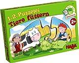 Haba 7467 - 1, 2, Puzzelei - Tiere füttern