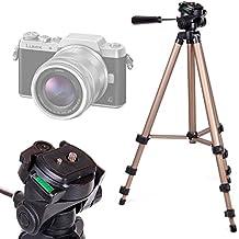DURAGADGET Trípode Profesional Para Cámara Lumix GF8 DMC-FZ300 Nikon Coolpix B50