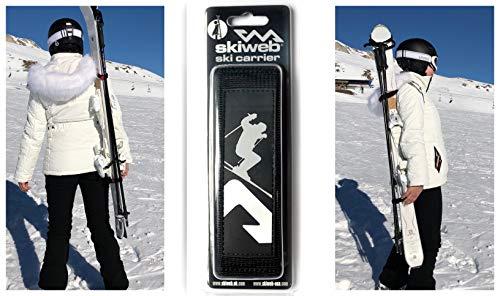 Skiweb Portaesquís diseño clásico