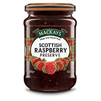 Mackays Scotsh Raspbery Preserv - 340 gm