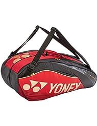 Yonex 6R Pro Series Racketbag Badminton Squash Tennis red