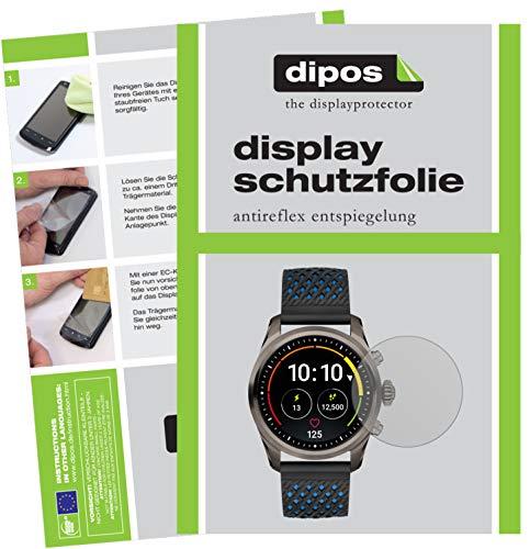 dipos I 6X Schutzfolie matt passend für Montblanc Summit 2 Folie Bildschirmschutzfolie