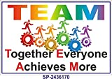 Best Safety Posters - SignageShop SP-2436170 Flex Team Work Poster Review