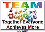 SignageShop SP-2436170 Flex Team Work Poster