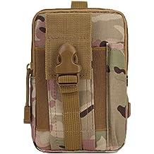 niceEshop(TM) Paquete de la Cintura Militar del Ejército Bolsa de Camping al Aire Libre Senderismo Bolsa de los Hombres