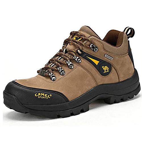 CAMEL Herren Wanderschuhe Outdoor Trekking Low-Top- Professionelle Rutschfeste Breathable Outdoor...