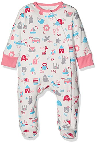 Kite Kite Baby-Mädchen Schlafstrampler ABC Sleepsuit, Rose, 92