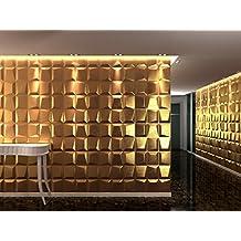 panel decorativo 3d mosaics para paredes interiores 100 ecolgico fabricado con bamb 6 - Paneles Decorativos 3d