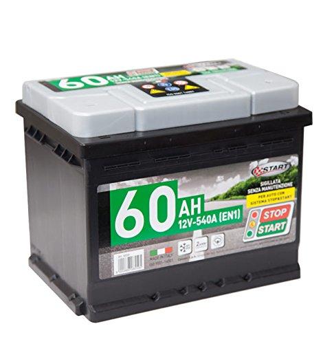 Start L2 Batteria Auto Stop Start 60AH 540A 12V