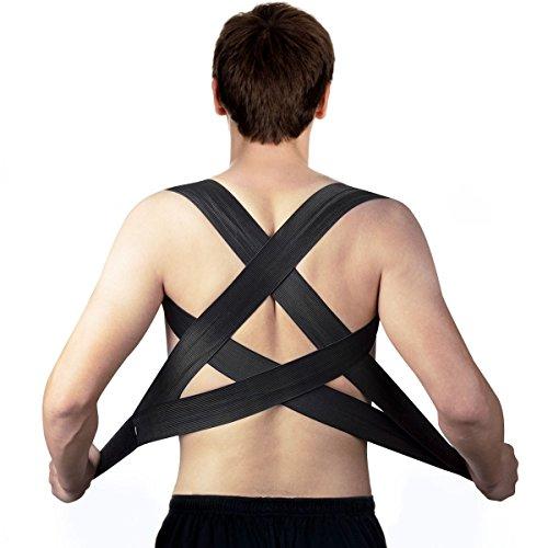 isermeo Corrector de Postura Espalda Recta, Posture Corrector y Support, Soporte Hombros Ajustable para Mujer e Hombres, Posture Corrective Back - Aliviar la Joroba y Desalineación Espinal
