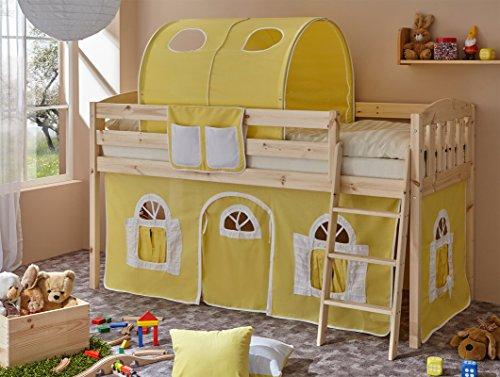 TICAA Das Bett ist ausschließlich mit einem Rollrost kompatibel