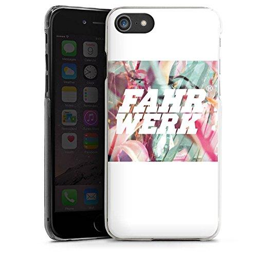 Apple iPhone X Silikon Hülle Case Schutzhülle Fahrwerk Bunt Muster Hard Case transparent