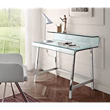 comprar mesa escritorio de vodrio an amazon
