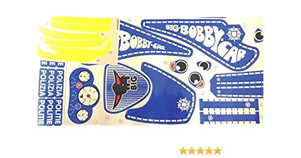 Big Bobby Car Classic Stickers Aufkleberset Police Polizei Bobby Car Kinderfahrzeuge