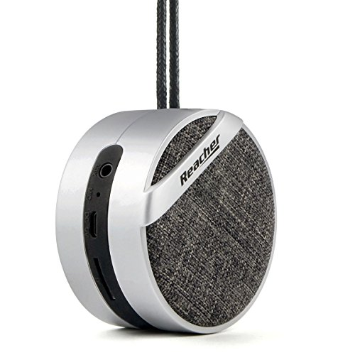 51d60BErZDL BEST BUY #1Reacher Portable Mini Bluetooth Speaker MP3 Player, TF/Micro SD Card, 3.5mm AUX, Built in Microphone for Calls for iPhone, iPod, iPad, Samsung, Echo, LG and others price Reviews