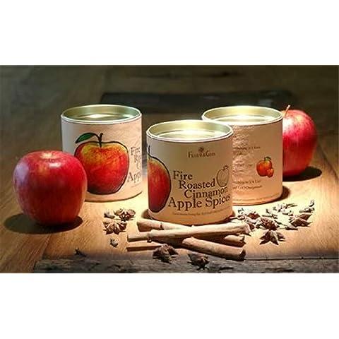 gaumenfreude–Especias Fire Roas Ted Cinnamon Apple–Preparación de té jugo de manzana, Zumo de naranja de calor para, vino, etc. 160g