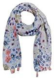 Icw Women's Scarf (Multi-Coloured, medium 22 x 72 inch) cotton