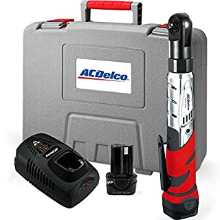 ACDelco arw1201Li-Ion 12V 3/20,3cm Ratsche Schlüssel w 2Akku, 57ft-lbs
