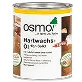 Osmo Hartwachs-Öl Farbig 3040 Weiss 2,5 Liter