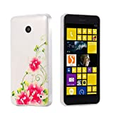 ECENCE Handyhülle Schutzhülle Case Cover kompatibel für Nokia Lumia 630/630 Dual SIM / 635 45020301