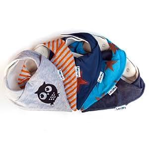 lovjoy bandana geifer baby l ssig l tzchen 5er pack st dtisch stern multicolor super. Black Bedroom Furniture Sets. Home Design Ideas