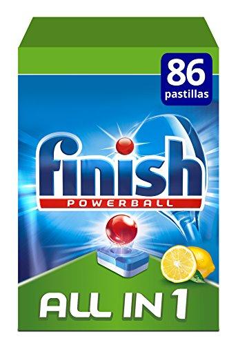 Finish Todo en 1 Original Lavavajilllas Limón -...