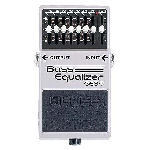Boss GEB-7 Bass Equalizer, Effektgerät für