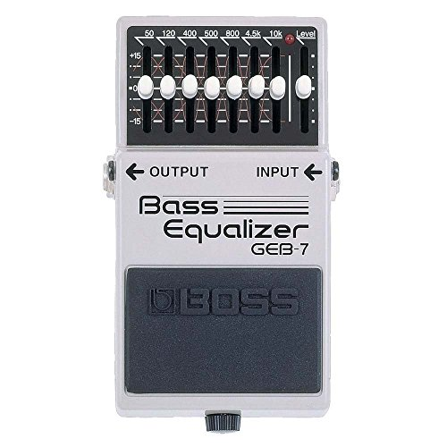 Boss GEB-7 Bass Equalizer, Effektgerät für E-Bass