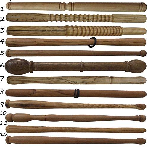 New Irish Bodhran Drum Beater Stick verschiedenen Design/Celtic Bodhrans Kippmulde, die Keltische Holzrahmen Drum 11 natur