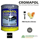 Cromapol | Acrylic Roof Coat | Waterproofing Roof Sealant | Three Sizes |